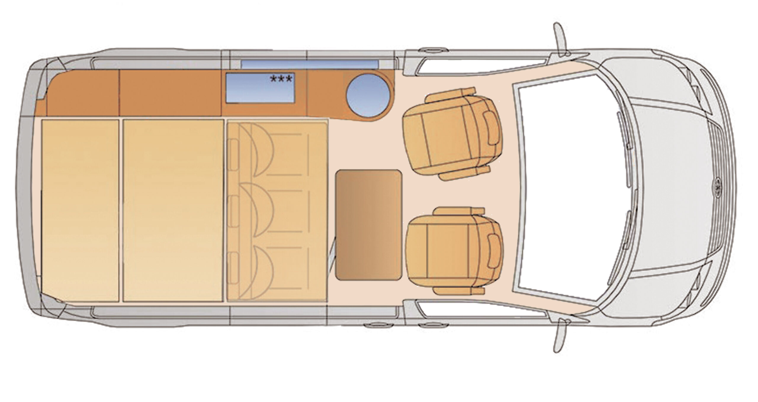 VW T6 Köhler mit Hubausstelldach